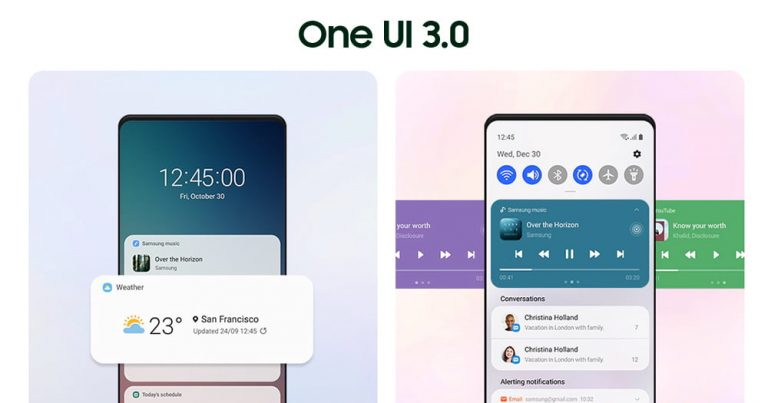 Read more about the article Samsung One UI 3.0 页面上线,最快 11 月陆续推送?
