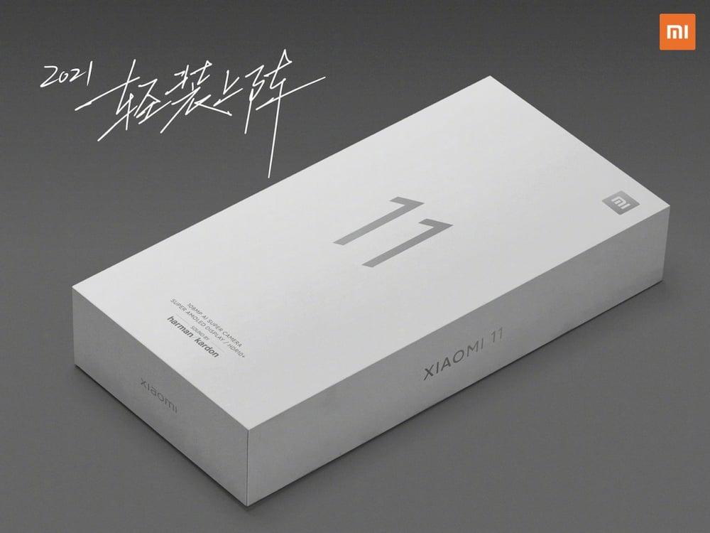 小米 11 盒装