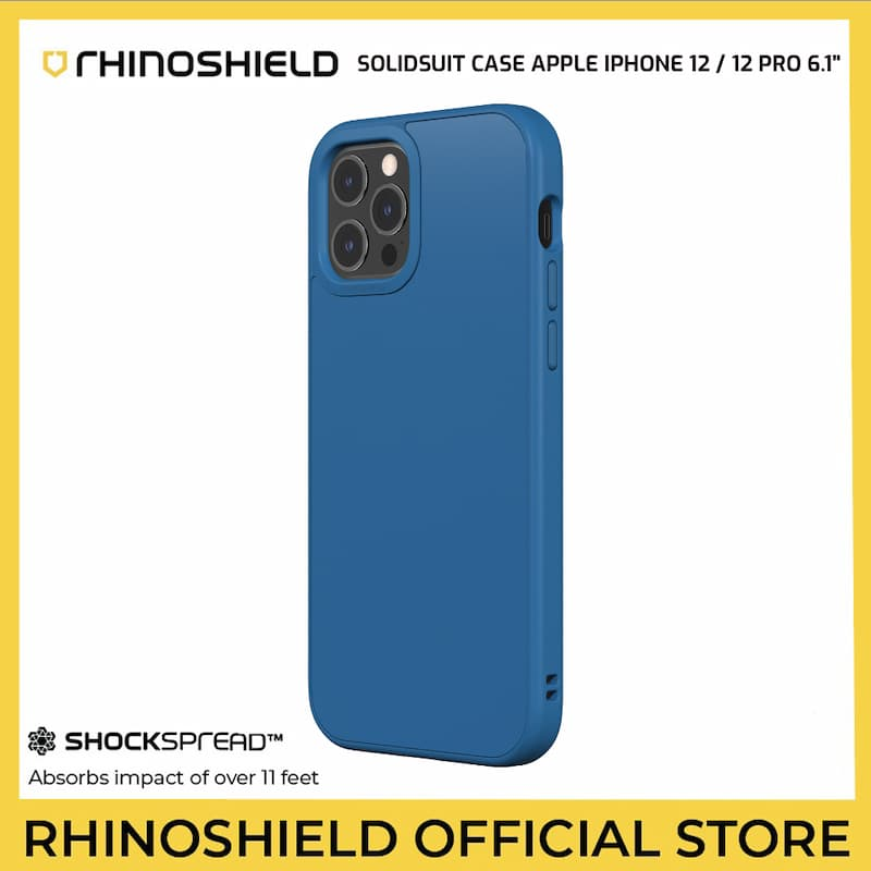 RhinoShield SolidSuit Case for Apple iPhone 12 / 12 Pro 6.1inch