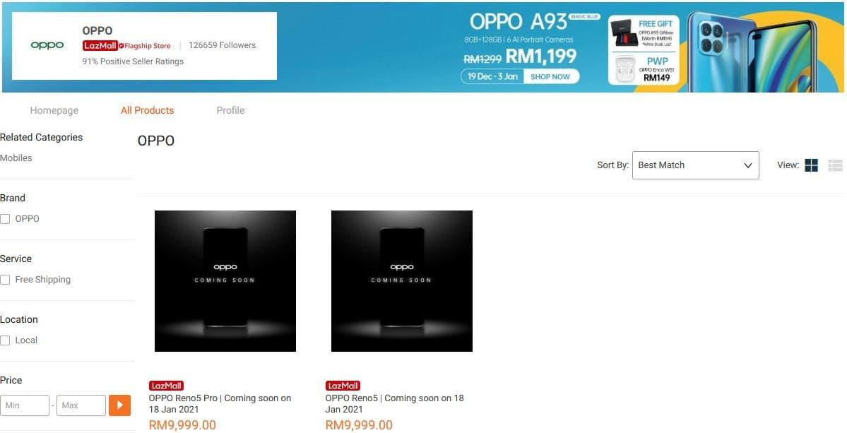【更新:发布会直播传送门】OPPO Reno5 系列 1 月 18 日大马发布?抢先领取 RM100 优惠券 1