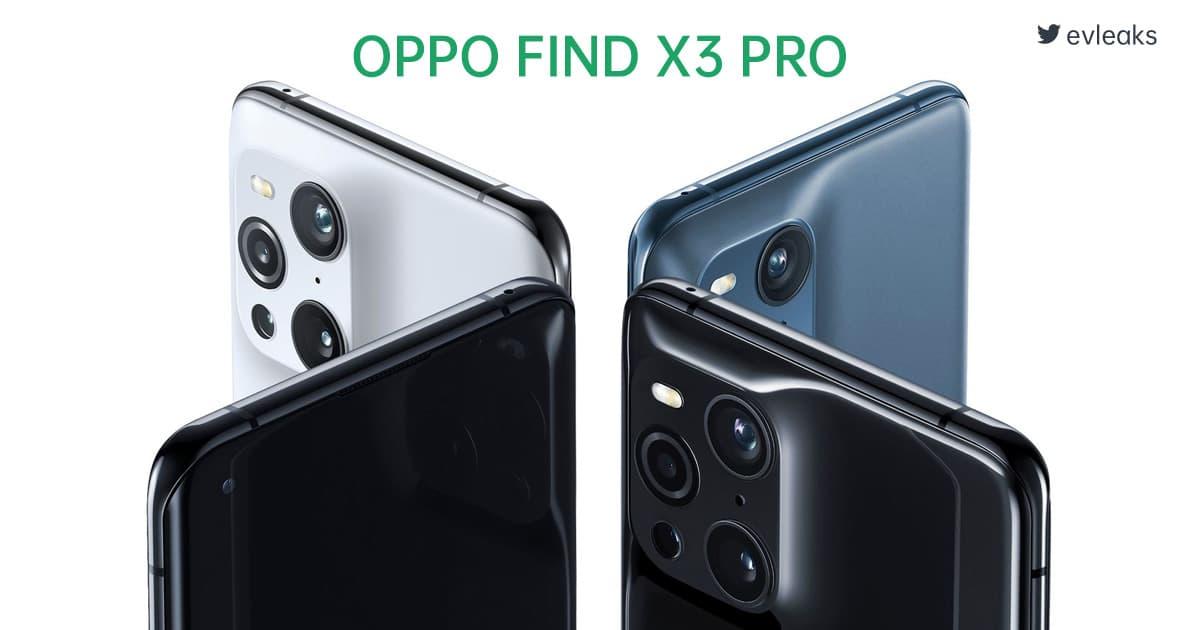 【更新:官宣发布日期】OPPO FIND X3 Pro 官方渲染图曝光,镜头排列疑似撞脸 iPhone 12 Pro,预计 2021 年第一季度发布?