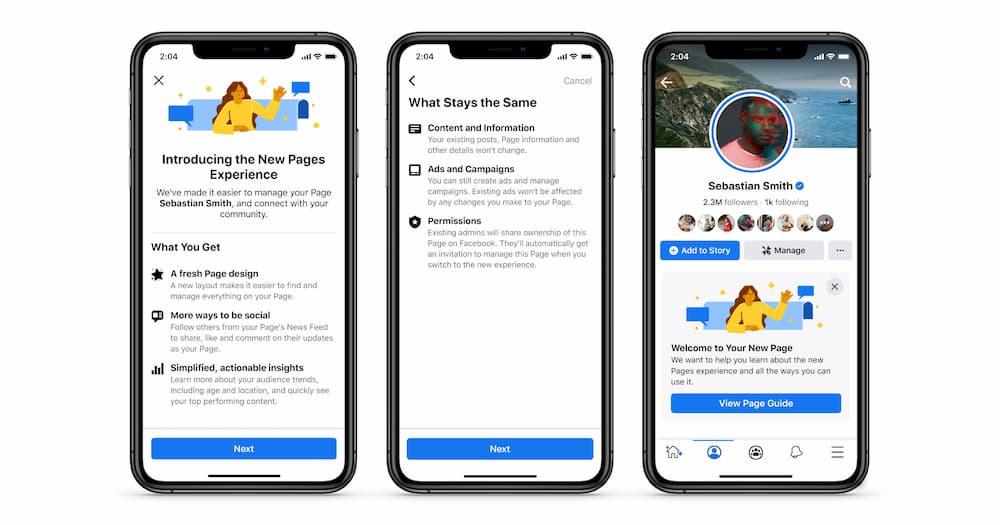 "Facebook 专页即将迎来大改版,版面更加简洁,经典的""点赞"" 👍 功能将会被淘汰"