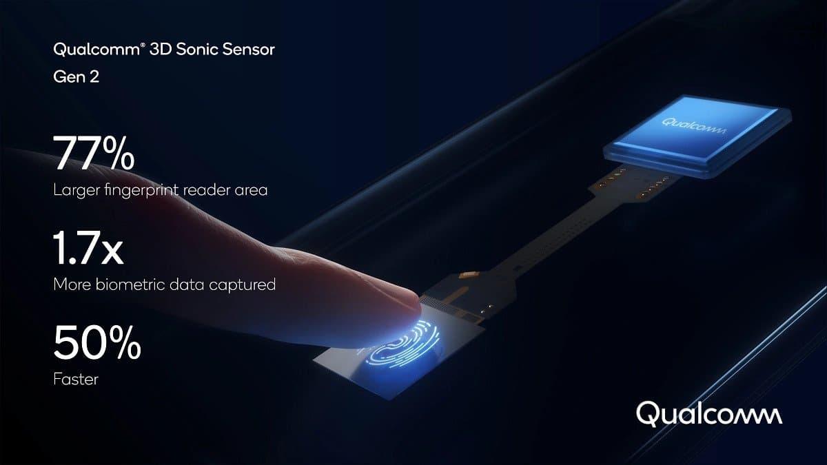 Qualcomm 发布第二代超声波指纹识别感应器,识别面积更大且解锁速度提升 50%