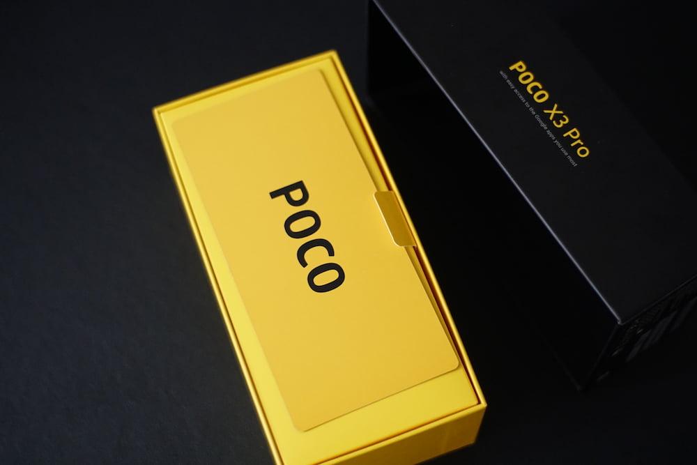 POCO X3 Pro 开箱