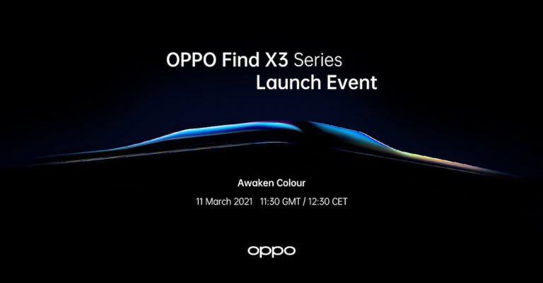 【更新:发布会直播】十年理想之作!OPPO Find X3 系列定 3 月 11 日正式发布