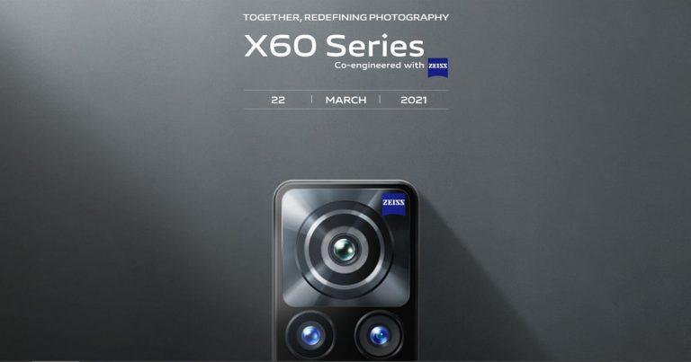 二代微云台影像系统,vivo X60 系列定 3 月 22 日马来西亚发布,采用高通骁龙 870 芯片