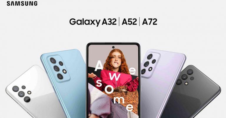 Samsung Galaxy A32、A52 及 A72 价格,3 月 26 日正式发售