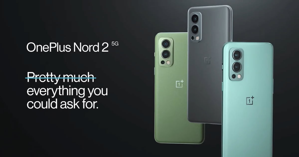 You are currently viewing OnePlus Nord 2 搭载定制版天玑 1200-AI 芯片,印度售价 RM1600 起