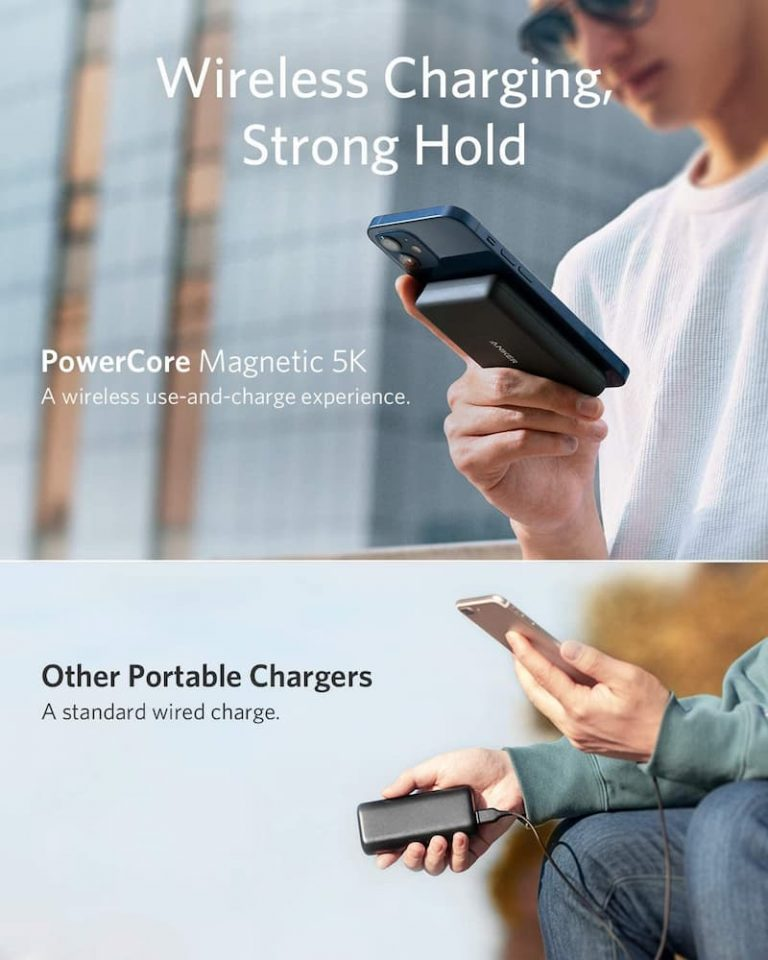 原厂的未必最好?Anker PowerCore Magnetic 5K 磁吸式移动电源更值得入手 2