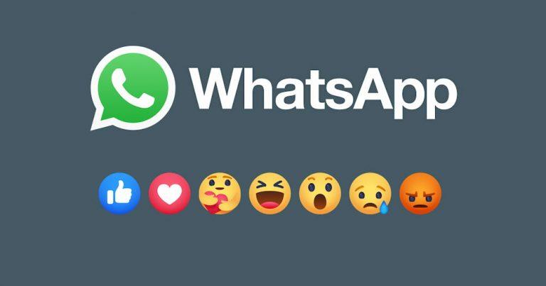 Read more about the article WhatsApp 正着手在应用程序加入 Reaction 功能,未来信息内的链接预览更加一目了然