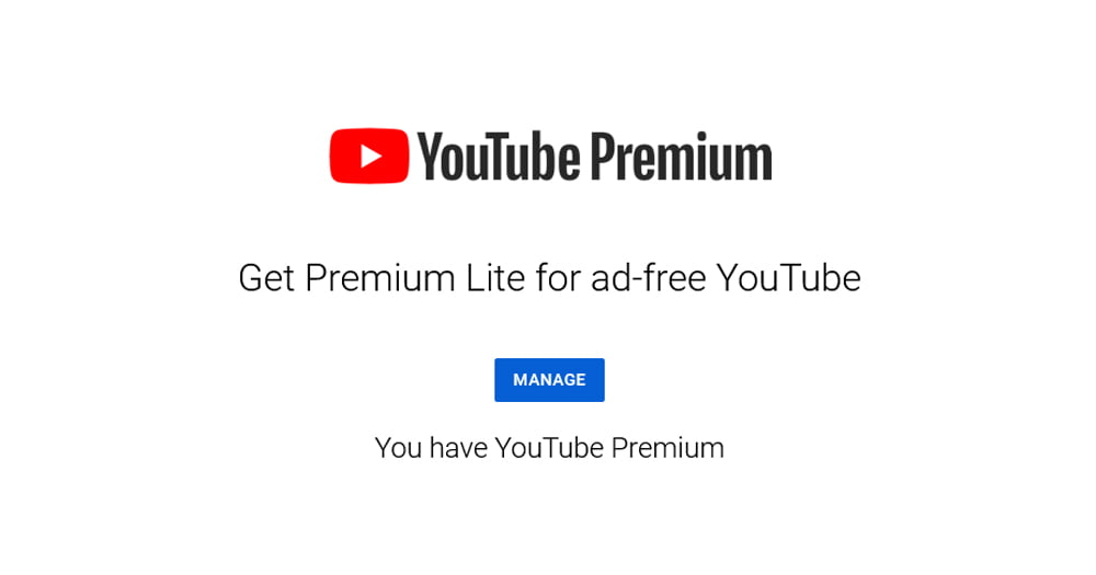 """You are currently viewing Google 或以新的 YouTube Premium Lite 方案降低""""去广告化""""的门槛"""