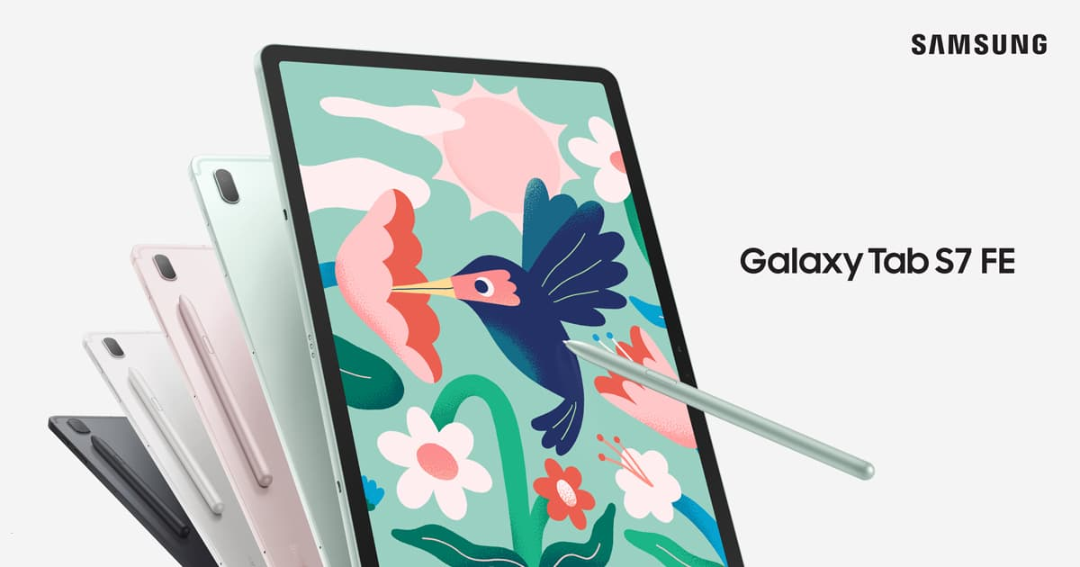 You are currently viewing Samsung Galaxy Tab S7 FE 平板现已开卖,售 RM1899 ,同时附上 S-Pen 手写笔