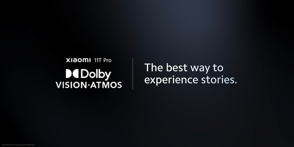 Xiaomi 11T Pro 获得 Dolby Vision 和 Dolby Vision 认证