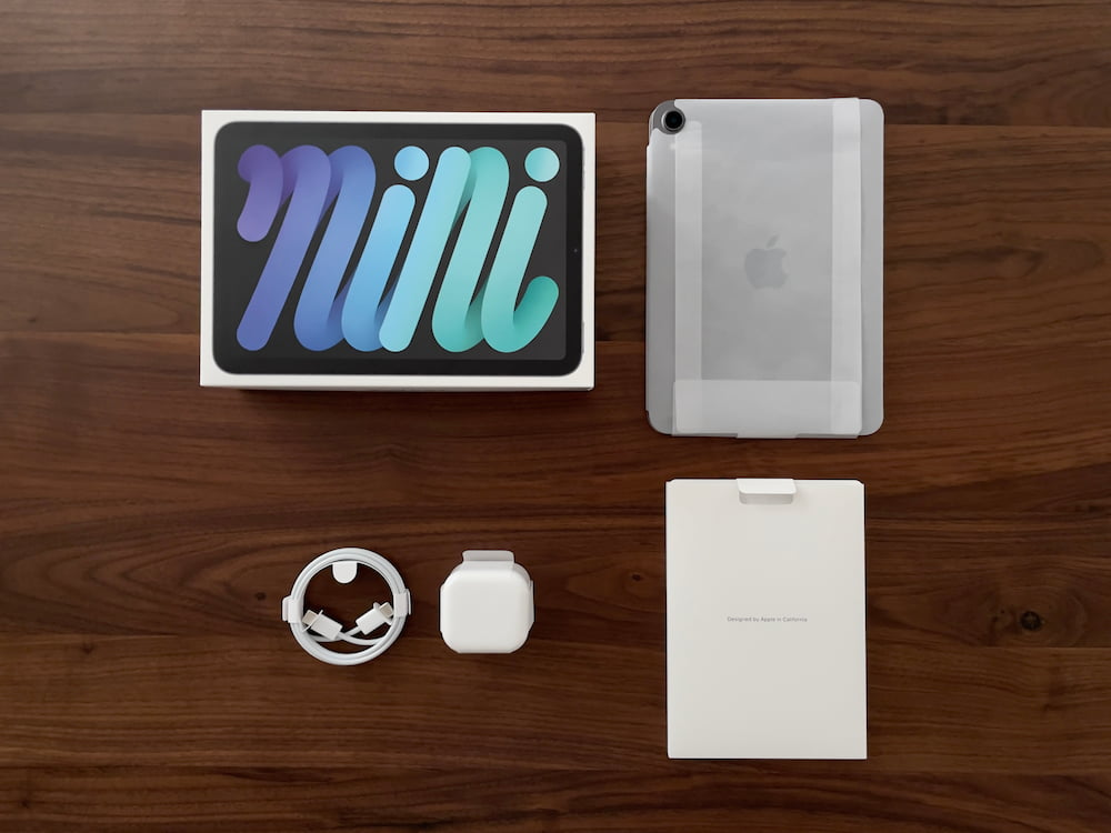 iPad mini 2021 盒装内容