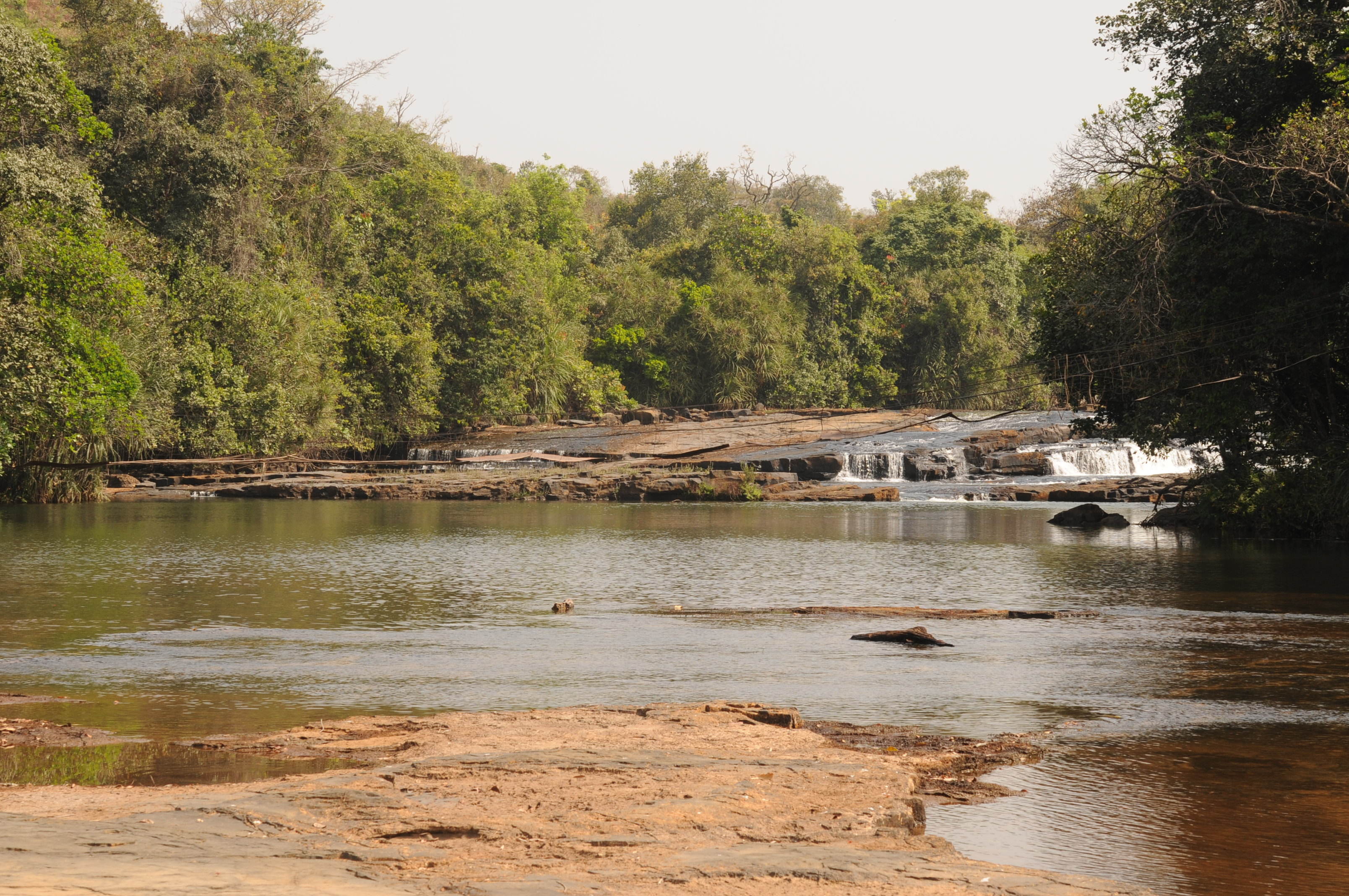Kambadga Falls, Jan 2018. Photo: M. Cheek ©RBG Kew
