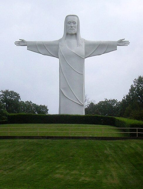 Christ of the Ozarks — Eureka Springs, Arkansas