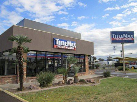 TitleMax in Glendale Arizona