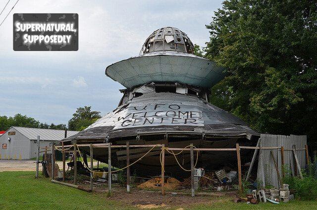 UFO Welcome Center — Bowman, South Carolina