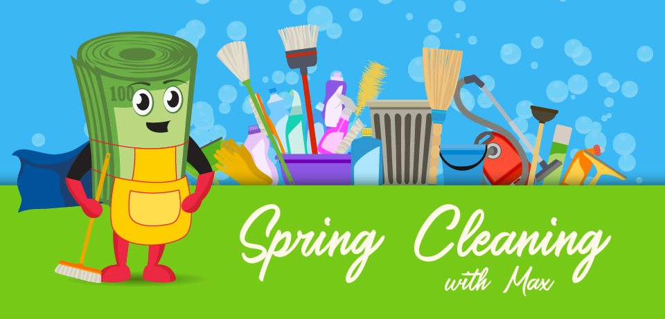 Spring Cleaning with Max