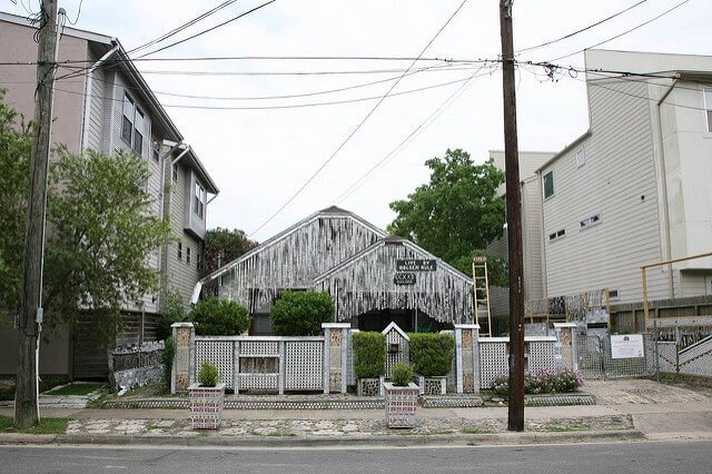 Beer Can House — Houston, Texas
