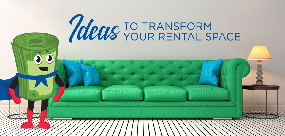 Ideas to Transform Your Rental Space