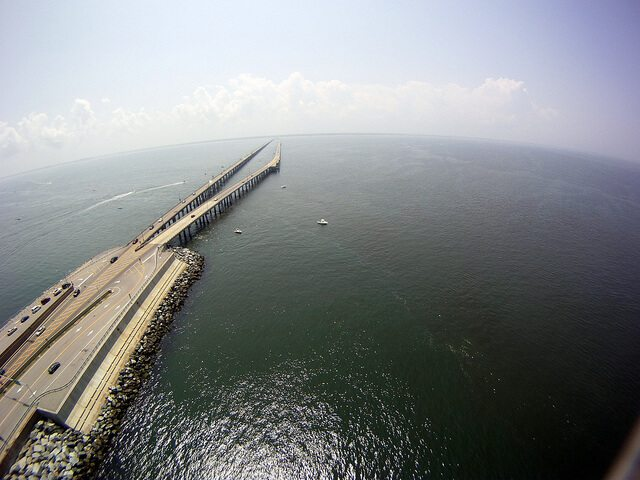 Chesapeake Bay Bridge/Tunnel, Virginia
