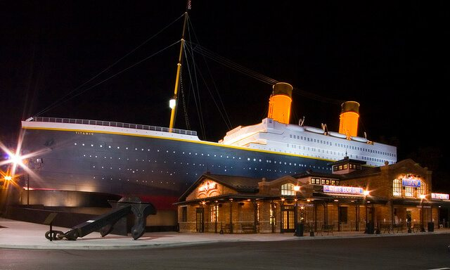 Titanic Museum — Pigeon Forge, Tennessee