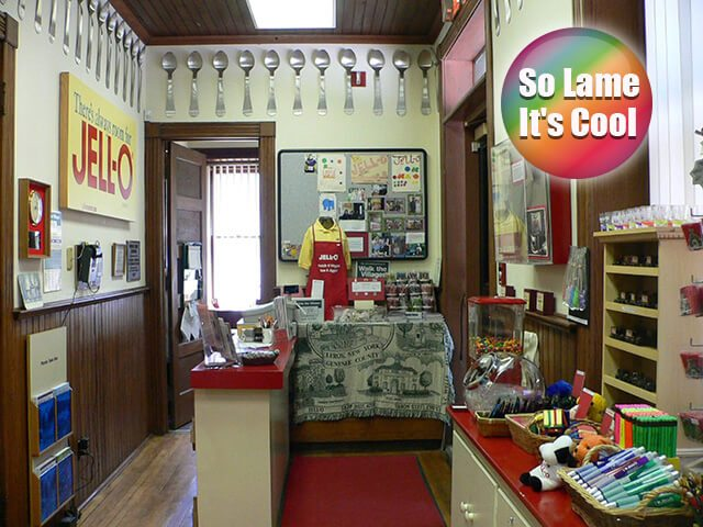 JELL-O Gallery and Museum — Le Roy, New York