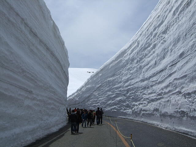 Tateyama Kurobe Alpine Route, Japan