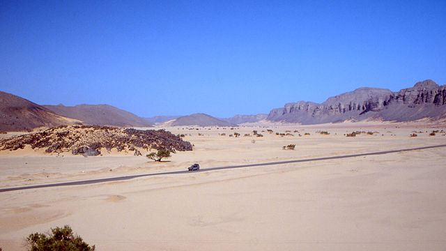 Trans-Sahara Highway, Africa