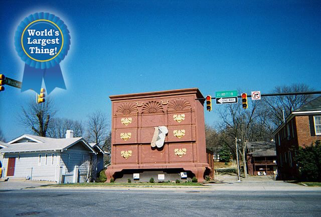 World's Largest Chest of Drawers — High Point, North Carolina