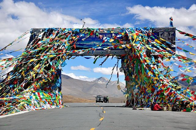 Friendship Highway, Tibet