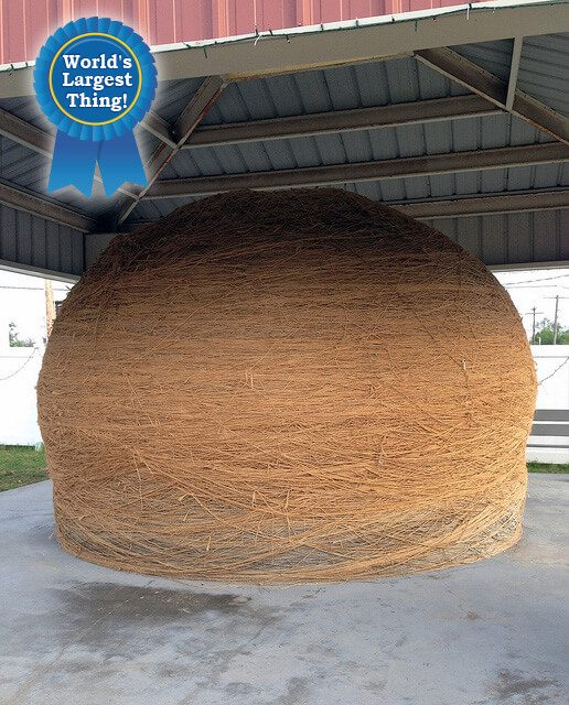 World's Largest Ball of Twine — Cawker City, Kansas