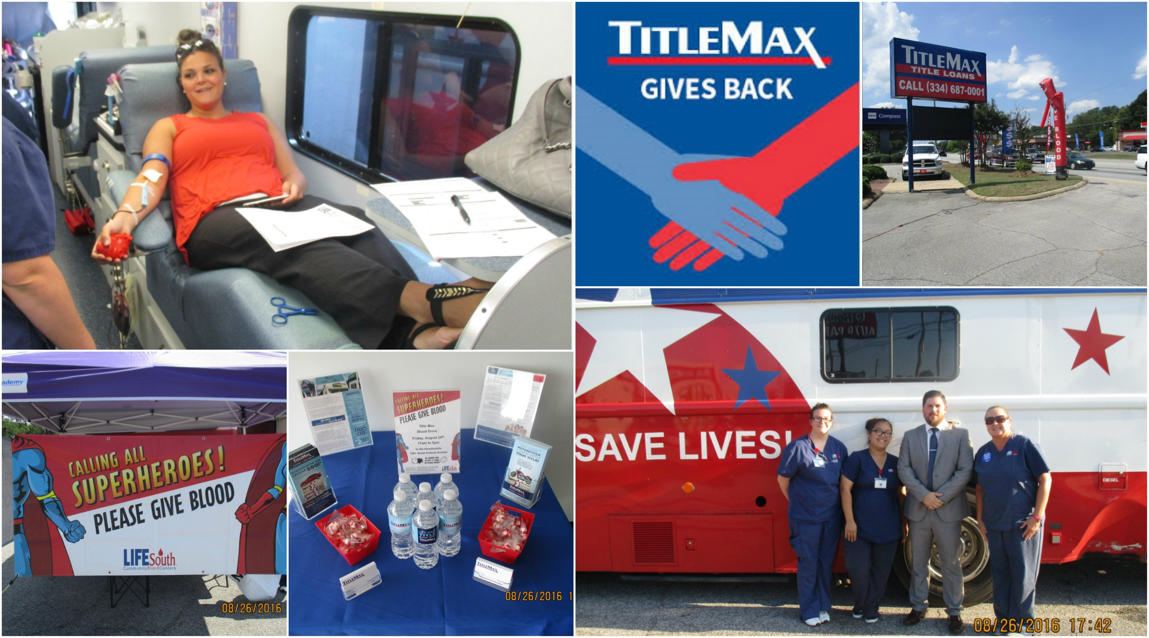 Eufaula Blood Drive Pictures