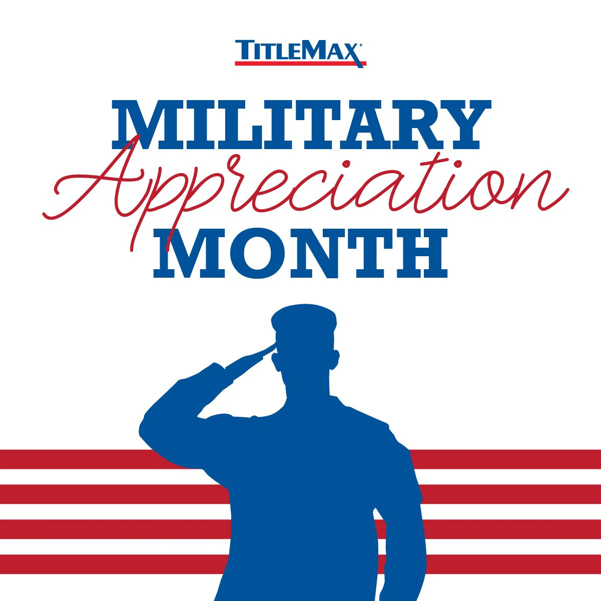 In Honor of Military Appreciation Month