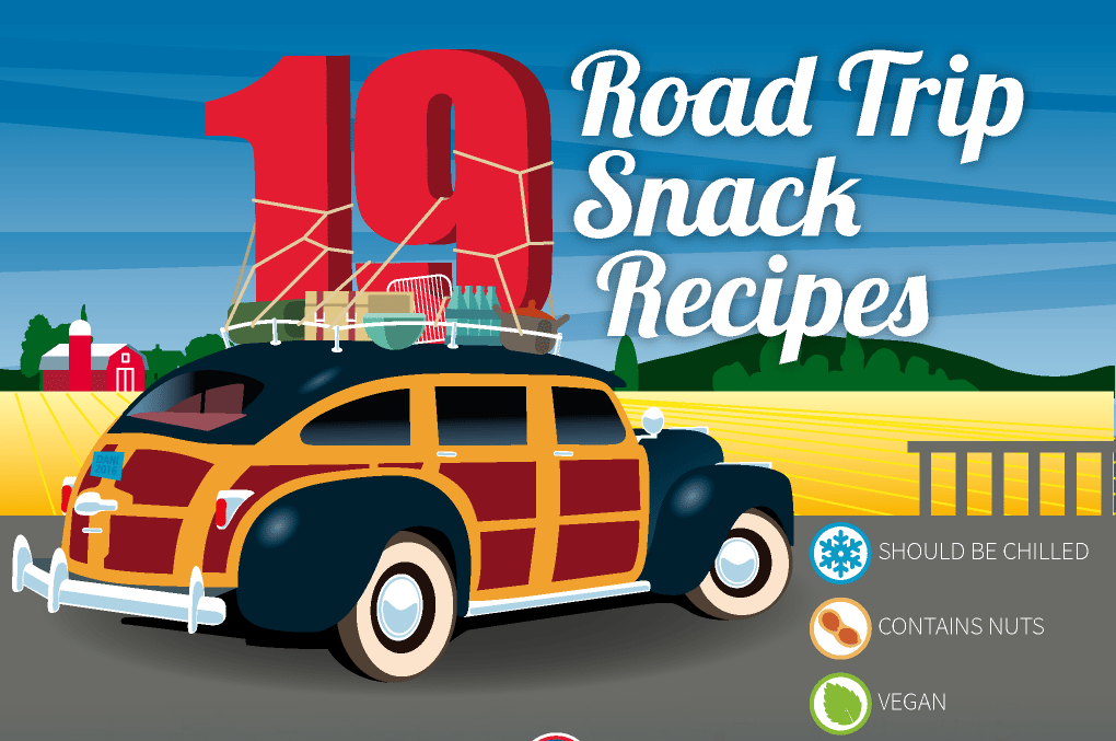 Classic Snack Recipes – Perfect for Road Trips with Kids [Infographic]