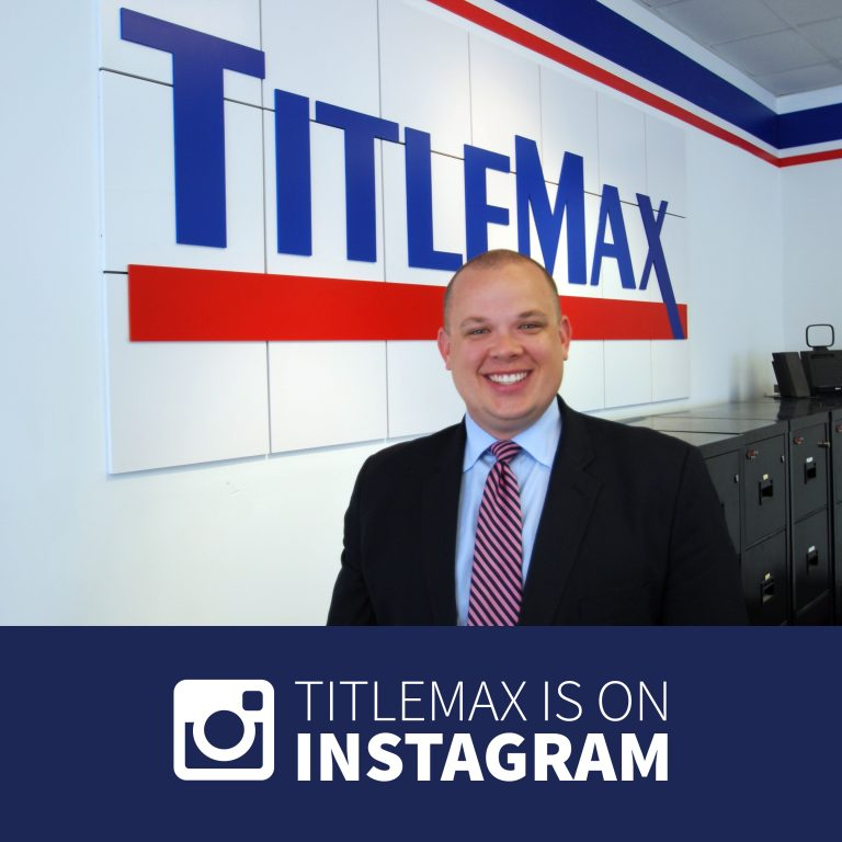 TitleMax is on Instagram! Follow us @titlemaxloan