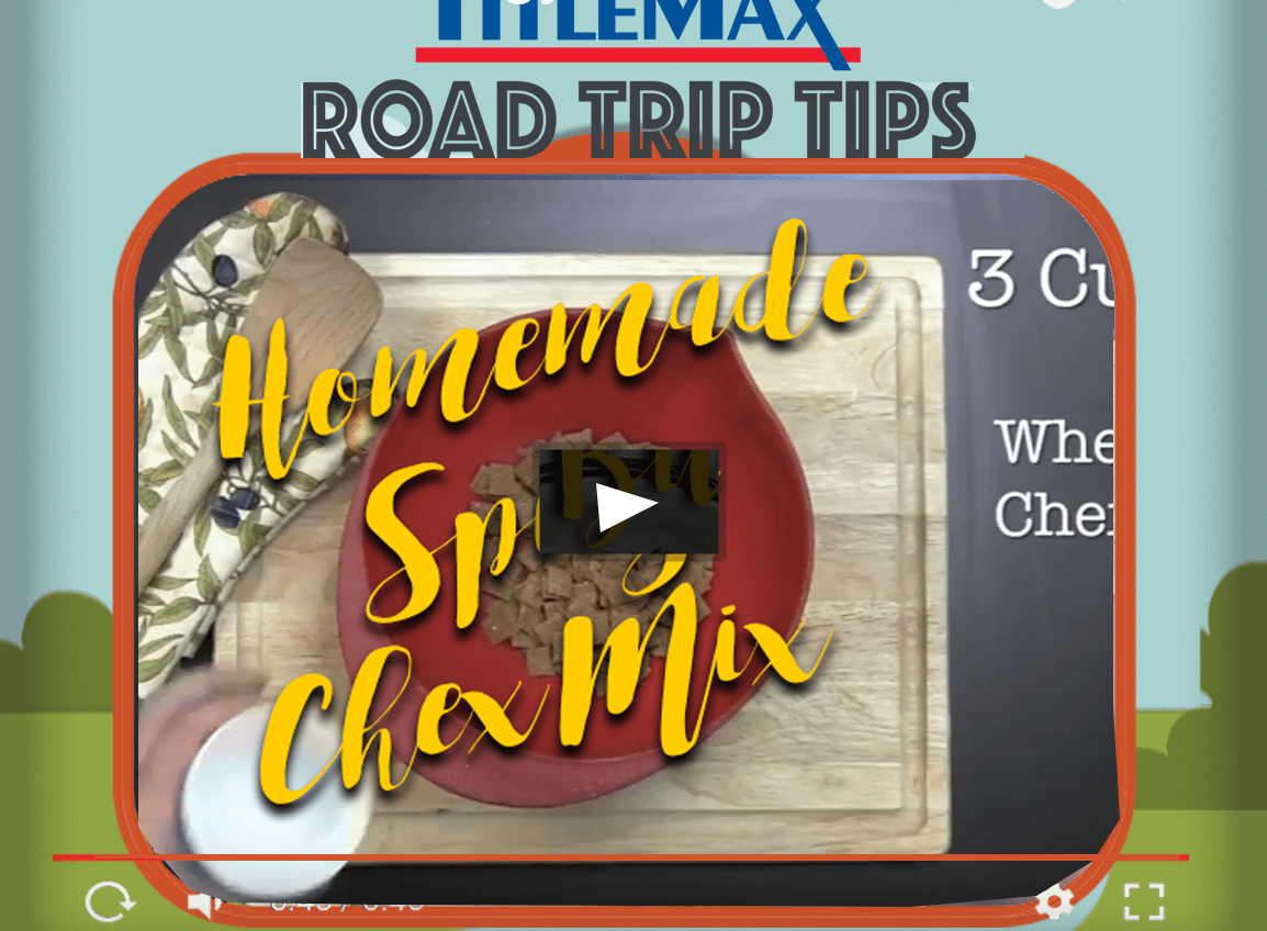 Road Trip Snack Video #2 – Homemade Spicy Chex Mix