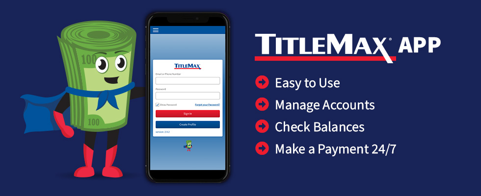 Max and the TitleMax Mobile App