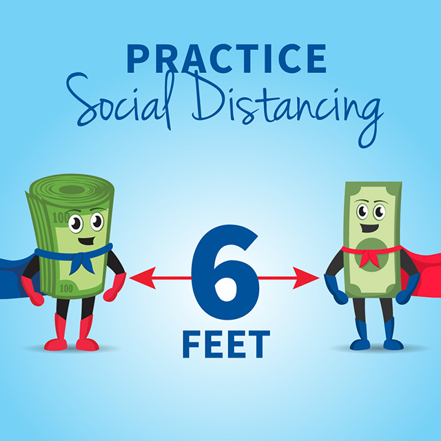 Max social distancing tip