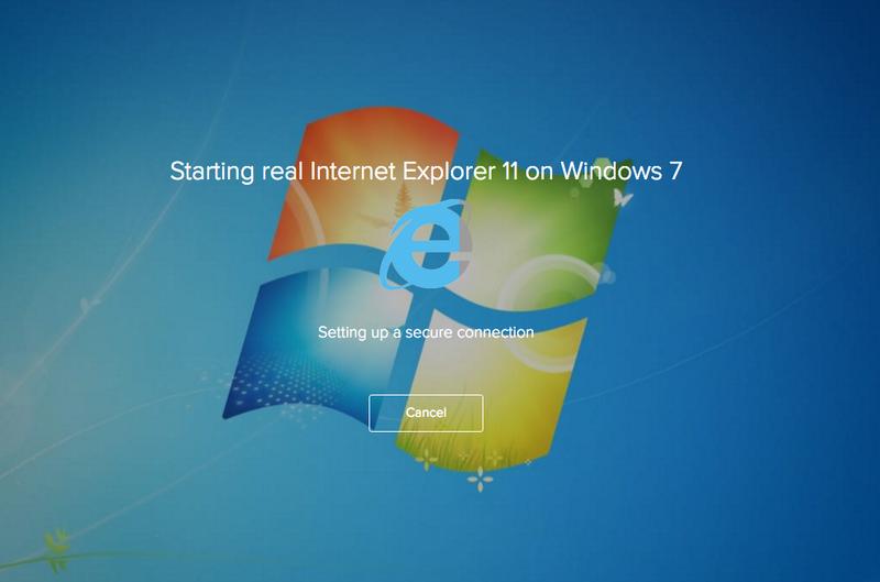 Browserstack loading emulator