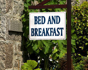 For our two nights in Monterey, CA we will be staying at a place much like a bed and breakfast that is being rented out to us!