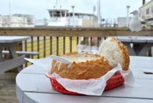 Old Fisherman's Grotto for award winning clam chowder and views of the wharf.