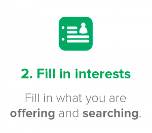 Fill in interests