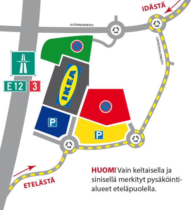 Ikea etäpysäköinti – Alihankinta