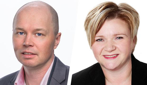 Eero Seppälä ja Virpi Korhonen