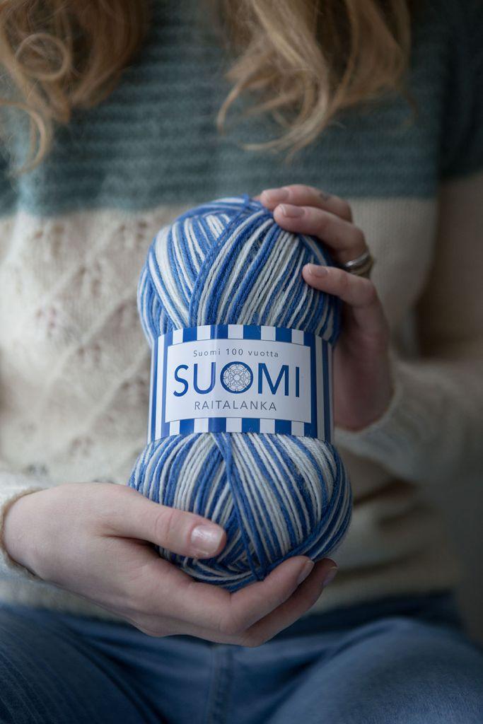 Suomi100-lankakerä