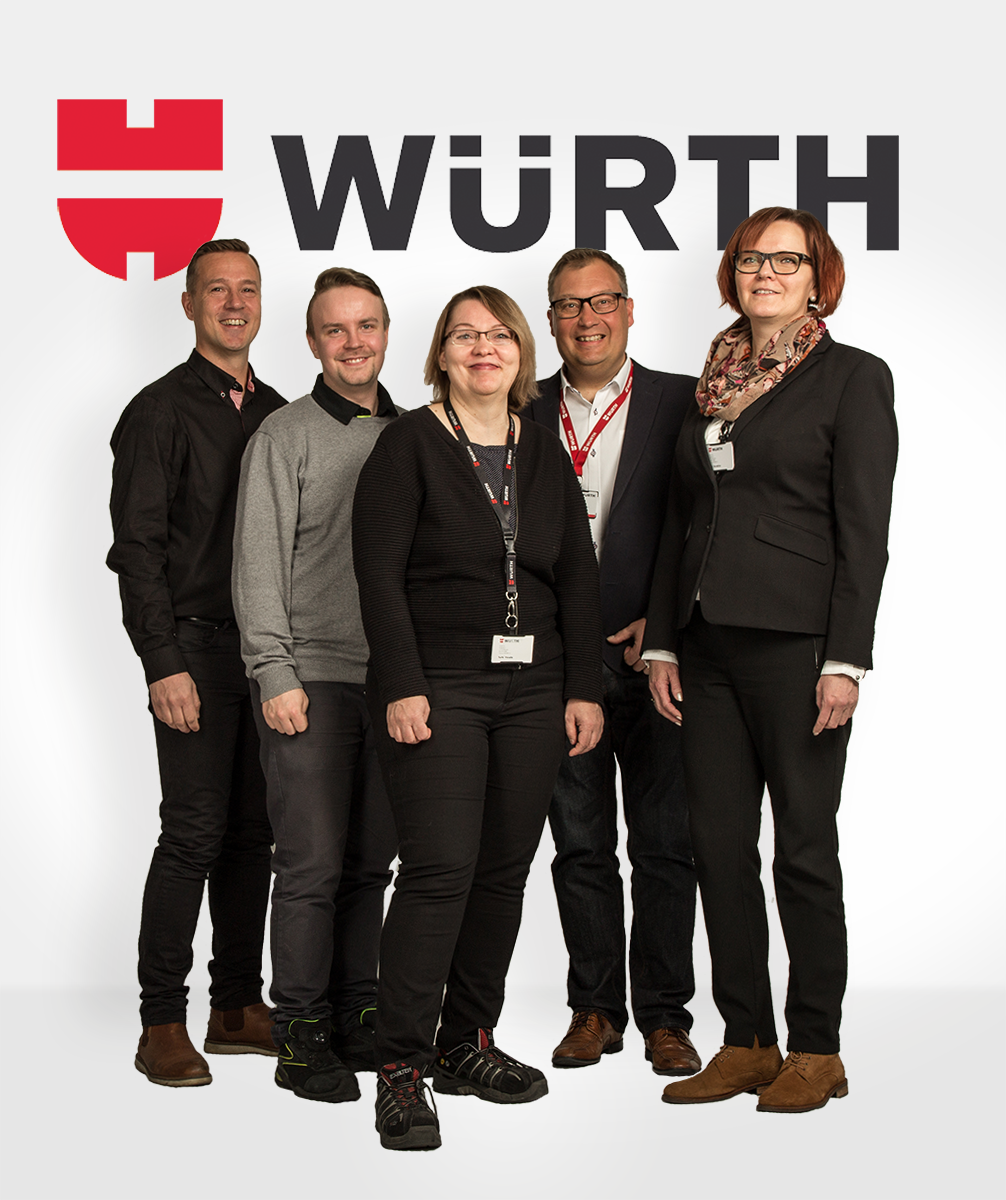 Logistiikka-messujen pääyhteistyökumppani Wurth