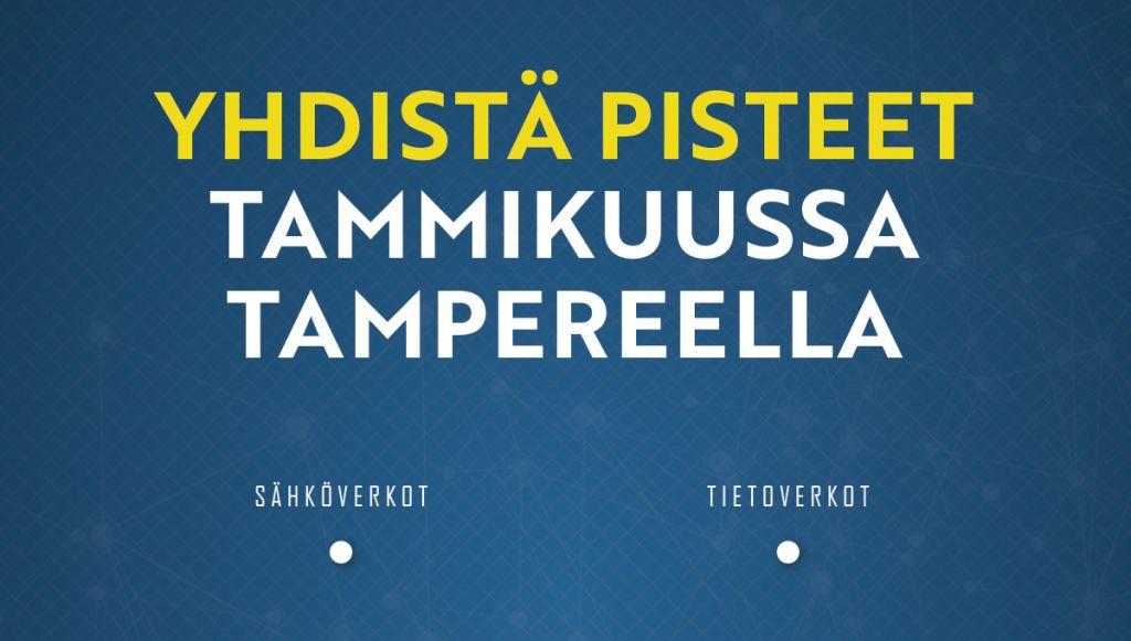 Yhdistä sähkö- ja tietoverkkojen rakentaminen Verkosto-messuilla Tampereella tammikuussa