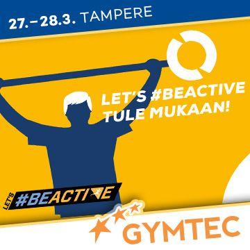 Liikuntapaikka Sportec -messujen ohjelma #BeActive